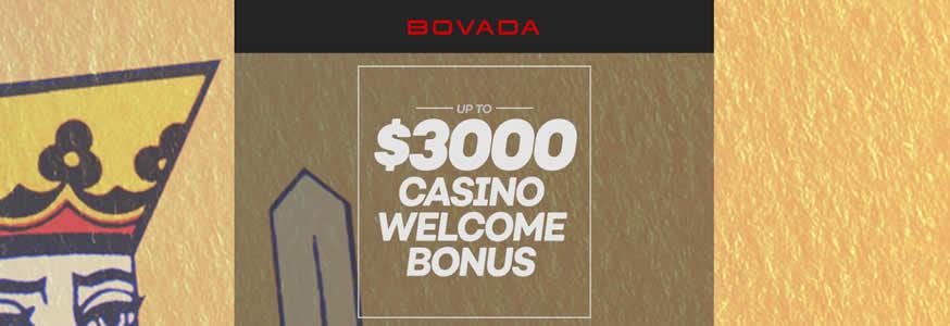 Bovada New $3,000 Bonus