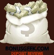 Deposit Money Bag With Bonusgeek.com Text