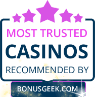 Most Trusted Casinos By Bonusgeek.com