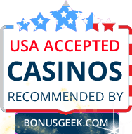 Casinos Accepting USA Players By Bonusgeek.com